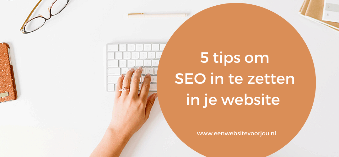 SEO in je website, wordpress tips voor jou