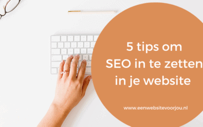 SEO in je website, wordpress tips voor jou