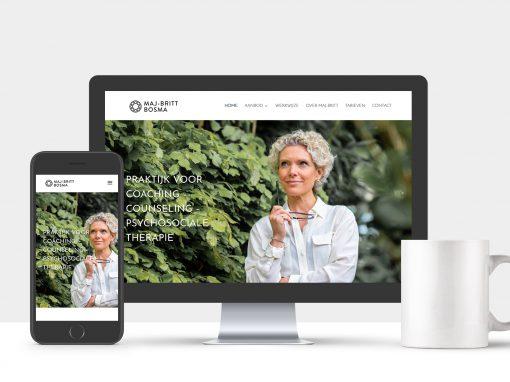 Website Maj-Britt Bosma