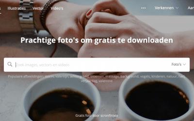 De beste websites voor rechtenvrije (gratis) foto's voor je website