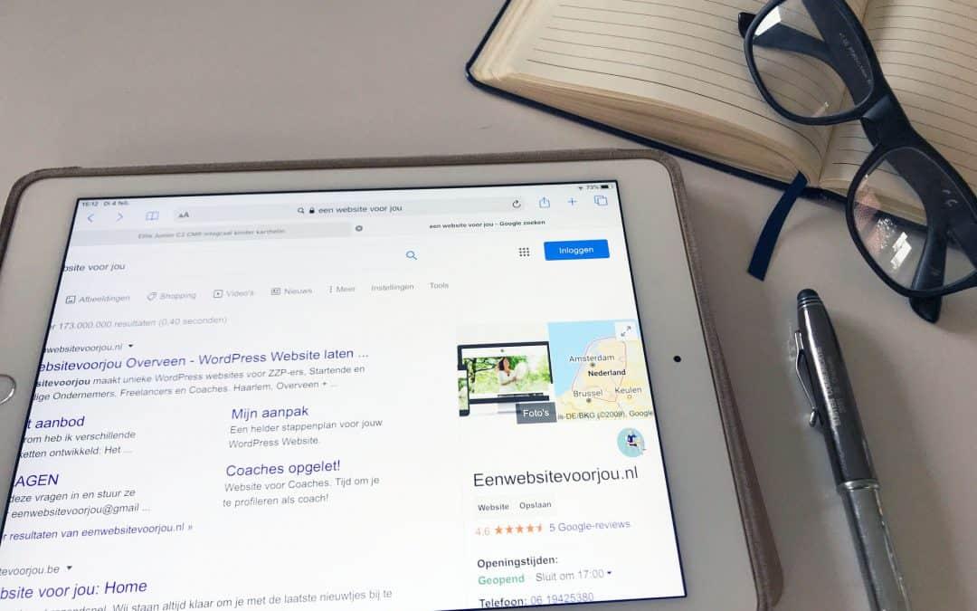 Uitleg Google Mijn bedrijf (deel 2) – Producten & Diensten toevoegen