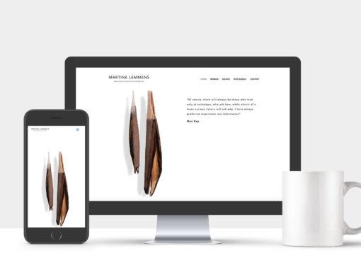 Website Martine Lemmens