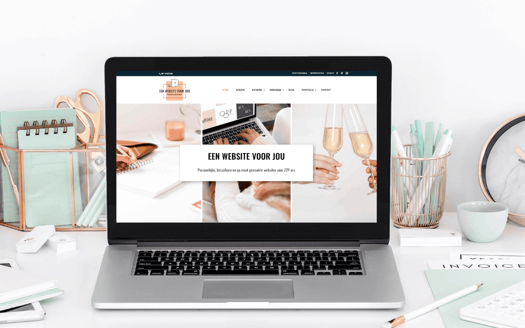 Vernieuwde website eenwebsitevoorjou online